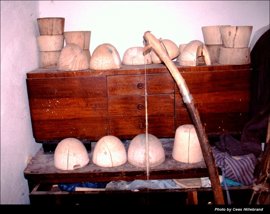 Qeleshe wooden moulds from Xhevdet Grezda