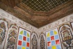 Wall and ceiling of the Oda in Zekati house
