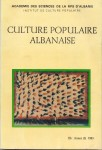 Culture Populaire Albanaise