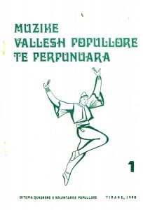 Muzike vallesh popullore të përpunuara vol 1